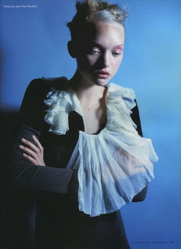 "i-D Oct 2005:Gemma Ward by Nick Knight. ""Paradise lost"""