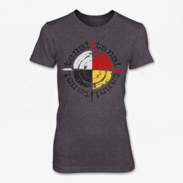 """""""Say hello. The word 'tansi' translates into hello in the Cree language. tansi clothing is the promotion of hello in the top languages spoken in Canada."""" - tansiclothing.com"""