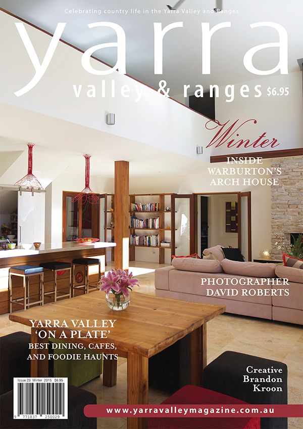 The winter Yarra Valley & Ranges Country Life magazine is out now! Buy it online or subscribe.