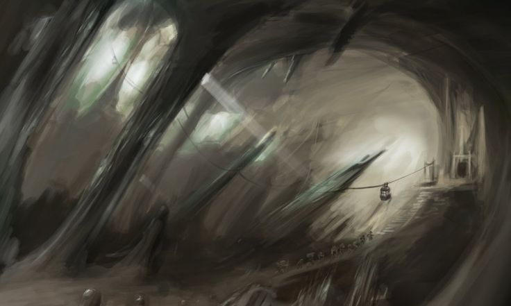 In cave with structure. (TTM - Page 8) by HARuNIS.deviantart.com on @DeviantArt