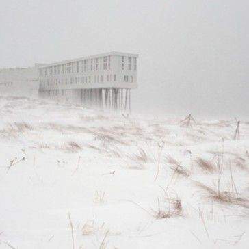 Fogo Island Inn, Newfoundland- a wonderful example of tourism that integrates outdoor recreation, local foods, art, local culture and community development-- out of my budget but visited the island and had a lovely drink at the Inn's bar anyway!