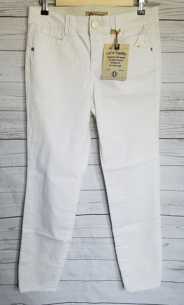 Democracy Jeans womans Size 6 White Skinny Stretchy Ab technology NWT ankle | Clothing, Shoes & Accessories, Women's Clothing, Jeans | eBay!