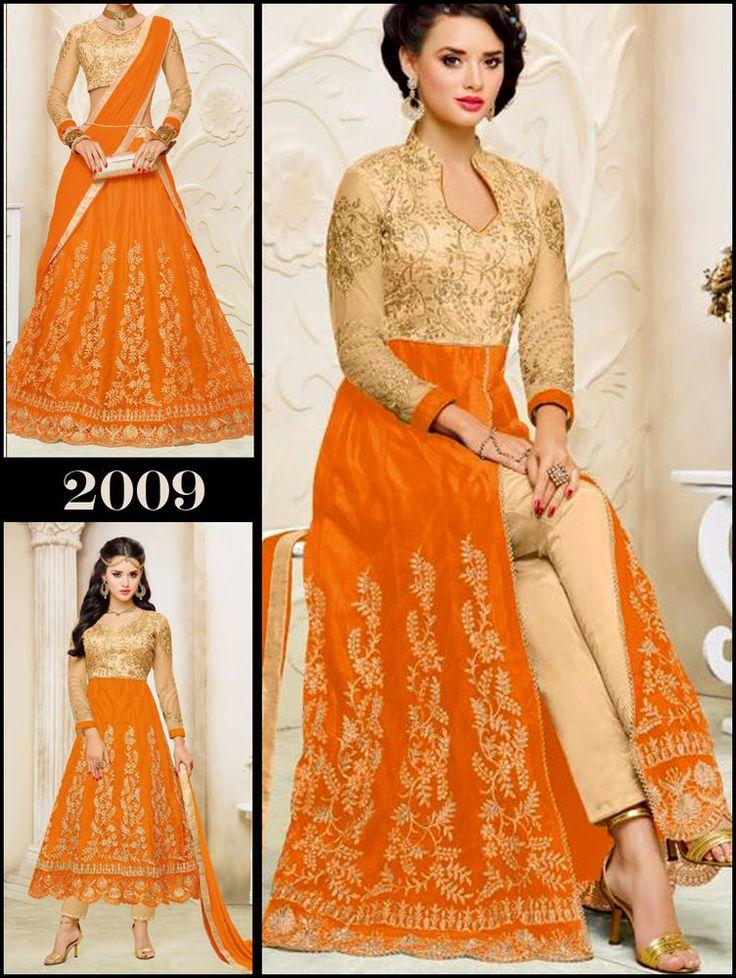 New Anarkali Dress Indian Pakistani Kameez Salwar Suit Ethnic Bollywood Designer #TanishiFashion #LehengaStyleSuit