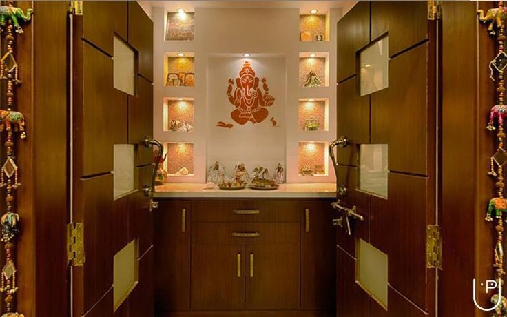 south indian pooja room designs - Google Search