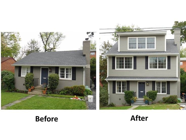 41 best images about full shed dormer on pinterest for Second floor addition before and after
