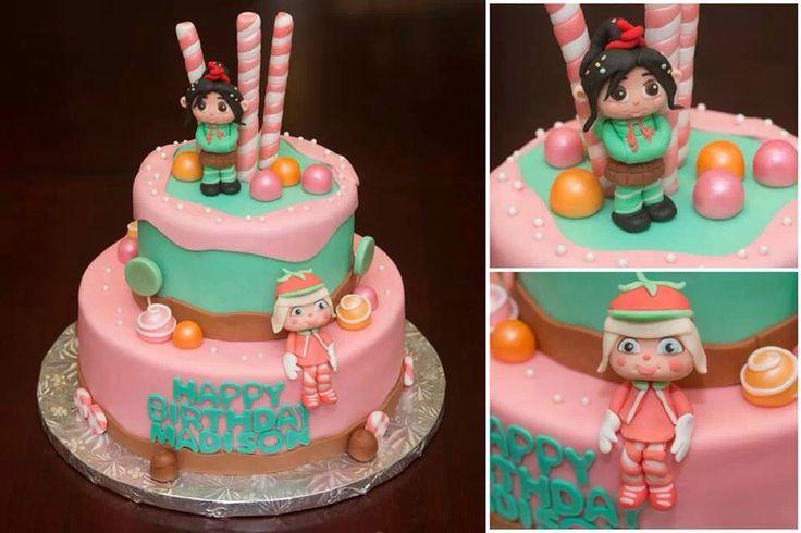 Sugar Rush Wreck It Ralph Cake Birthday Wreck It