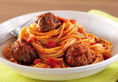 Traditional Spaghetti and Meatballs #Win #EscapeToItaly #Recipe