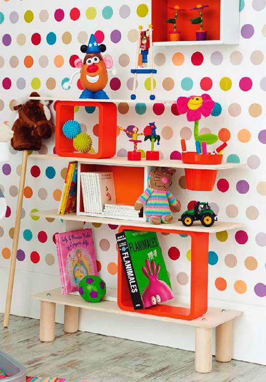 17 migliori idee su design stanza dei bambini su pinterest - Mensole per camera bambini ...
