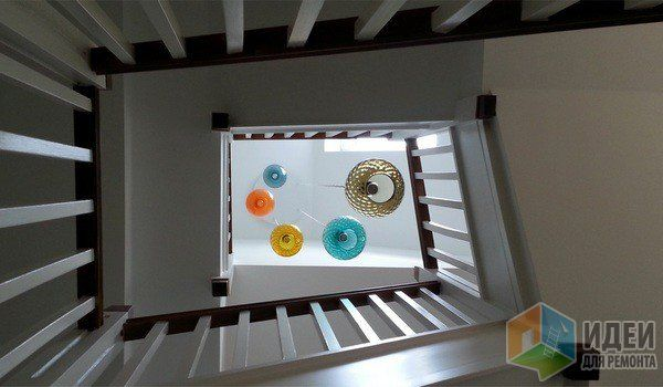 Стеклянные светильники - радуга под потолком