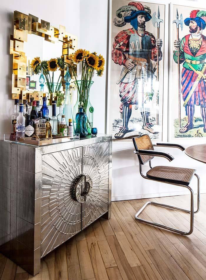 Яркая квартирка художника в Бруклине – Красивые квартиры