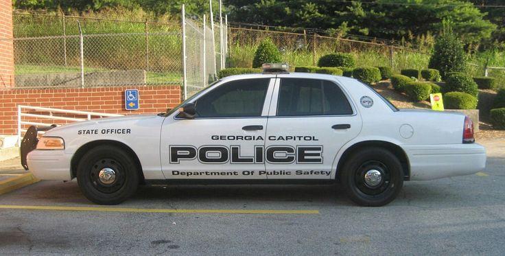 Georgia Capital Police Dept. of Public Safety State Officer Ford CVPI