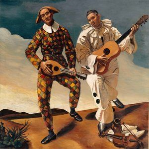 Harlequin and Pierrot (c. 1924), André Derain