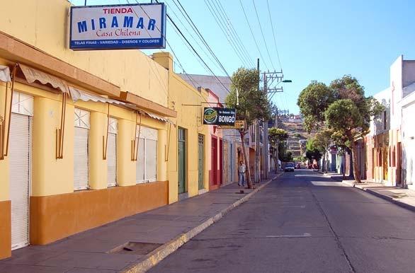 Típica calle chilena - Ovalle