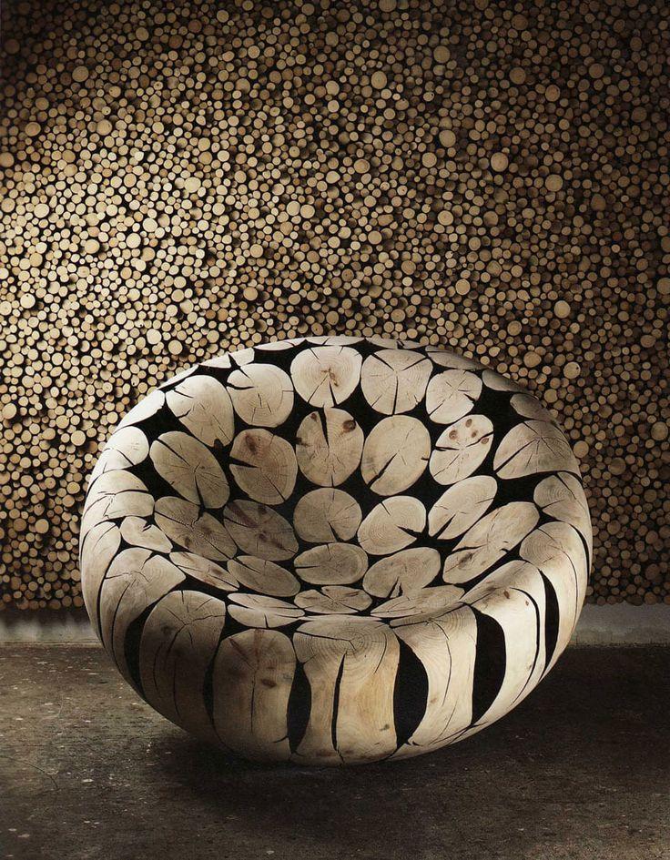 Jae Hyo Lee, sculptures de bois
