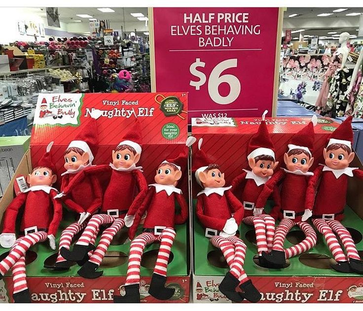 If you dont want to pay top dollar for the official #elfontheshelf checkout this #bargainfind by @sydneyhills_mummyblogger - naughty #elf was $12 now just $6 #onsale at #lincraft.