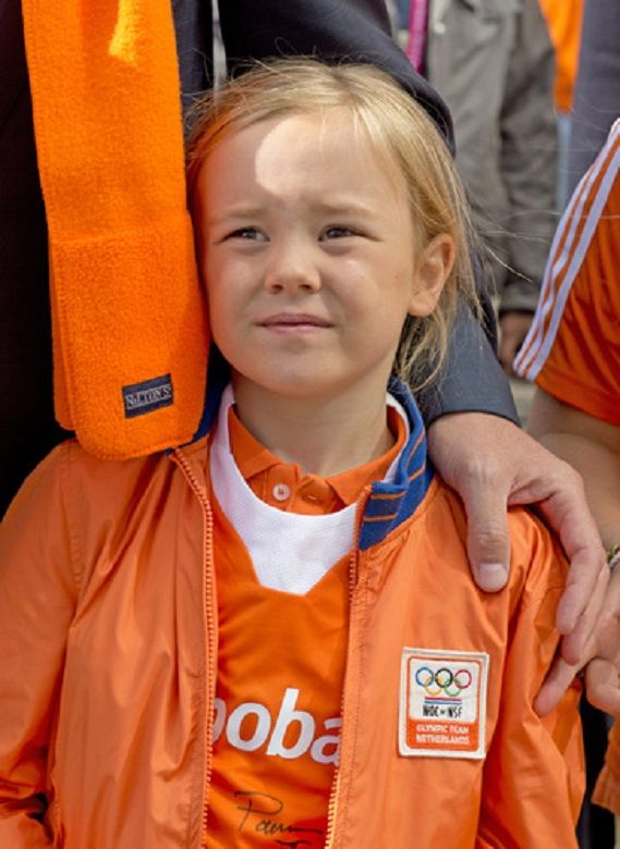 Dutch Princess Ariane attends the Field Hockey World Cup men's final between Australia and the Netherlands 2014, in the Hague, the Netherlands.