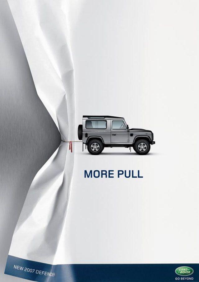 Más jale | Land Rover #MarketingdeGuerrilla