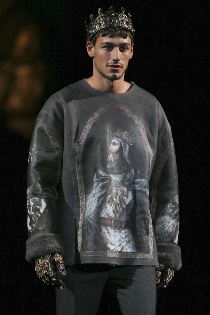 Dolce&Gabbana Men's Winter 2015 collection