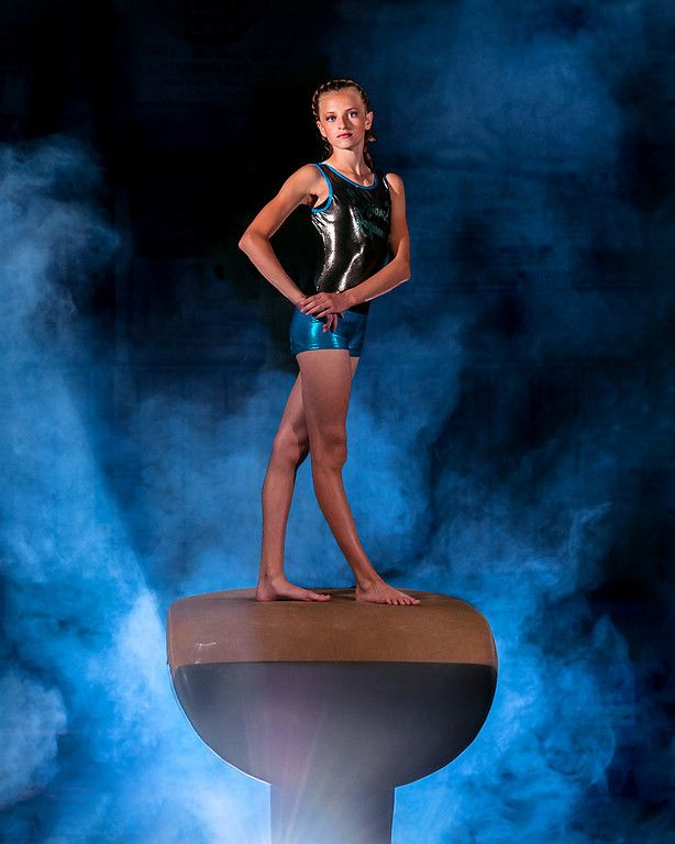 Alexa Gymnastic Portraits - Grand Reflection