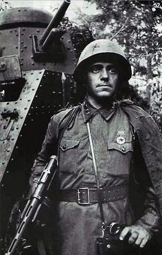 Decorated Red Army soldier or under officer.Russia, date unknown. Pin by Paolo Marzioli
