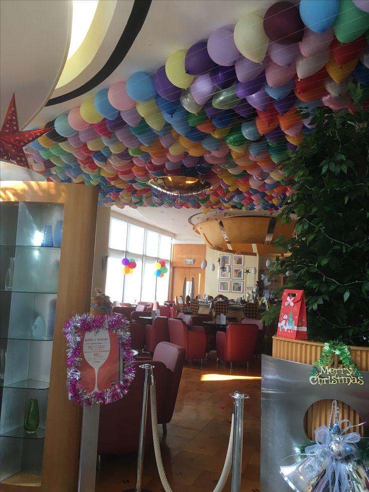 Preparations for new year metro park hotel cause way bay Hong Kong