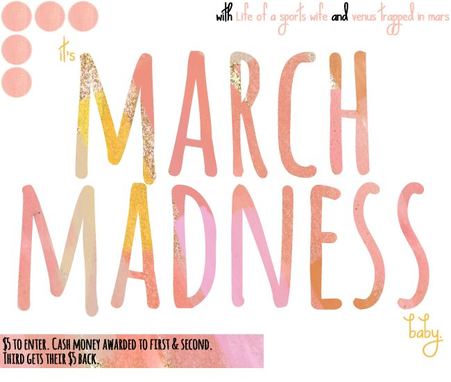 March Madness Bracket Challenge for Bloggers!