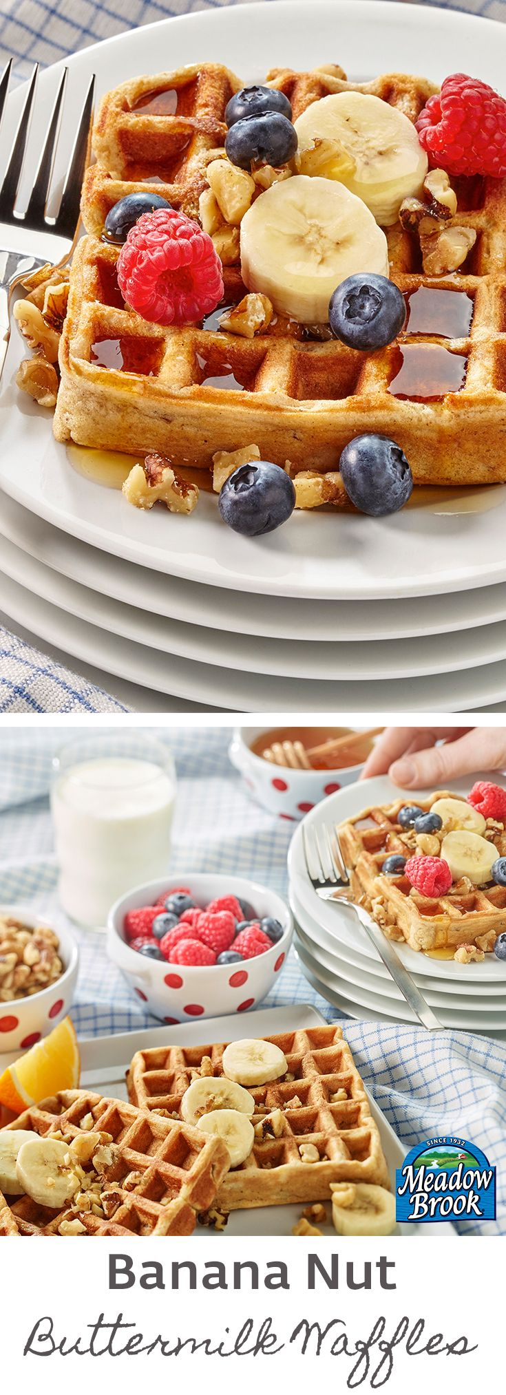 Make any morning extra special with these flavorful and delicious waffles.