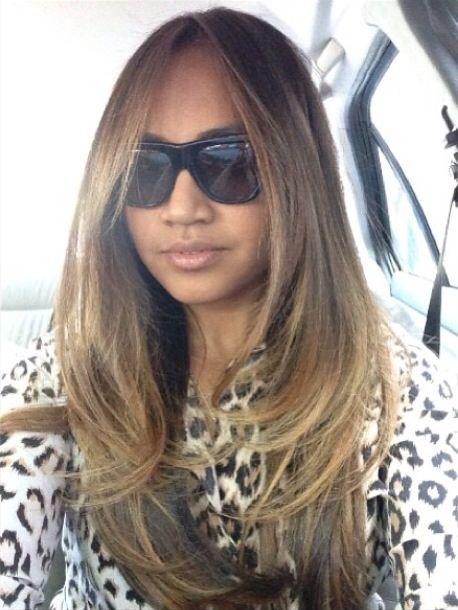 Jessica Mauboy hair <3