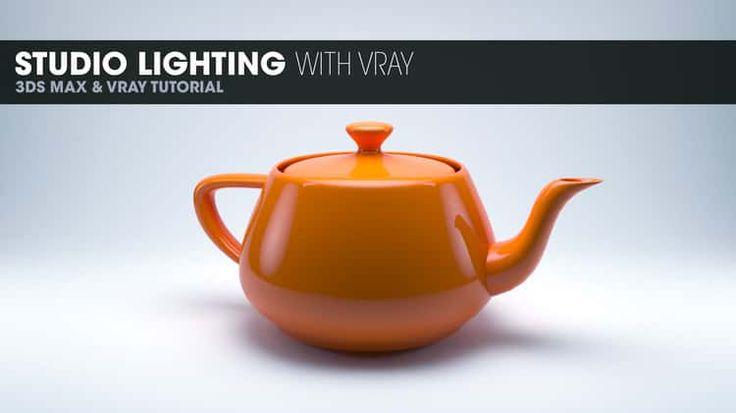 Studio Lighting in Vray - 3DS Max 2014