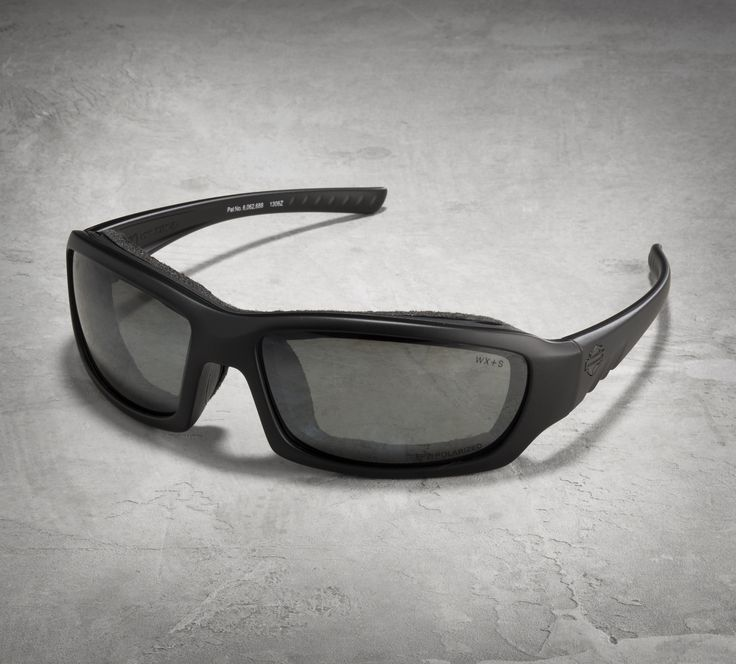See the world from a new lens. | Harley-Davidson Gem Partial Polarized Performance Glasses