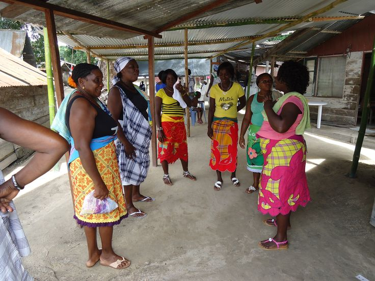 Ndjuka meets the Saamaka Pangi fashion