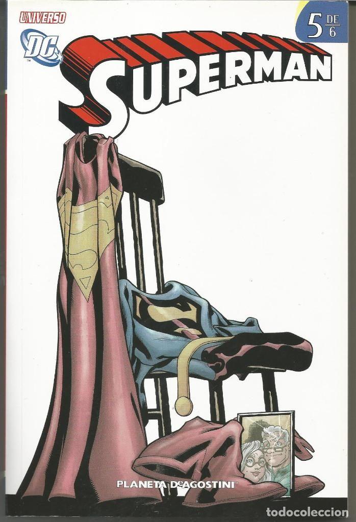 UNIVERSO DC SUPERMAN 5 (DE 6) DE JEPH LOEB DC COMICS PLANETA DEAGOSTINI