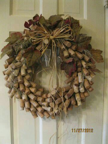 Cork wreath                                                                                                                                                     More