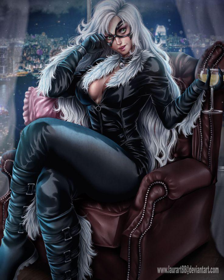 Marvel Black Cat Nude 5