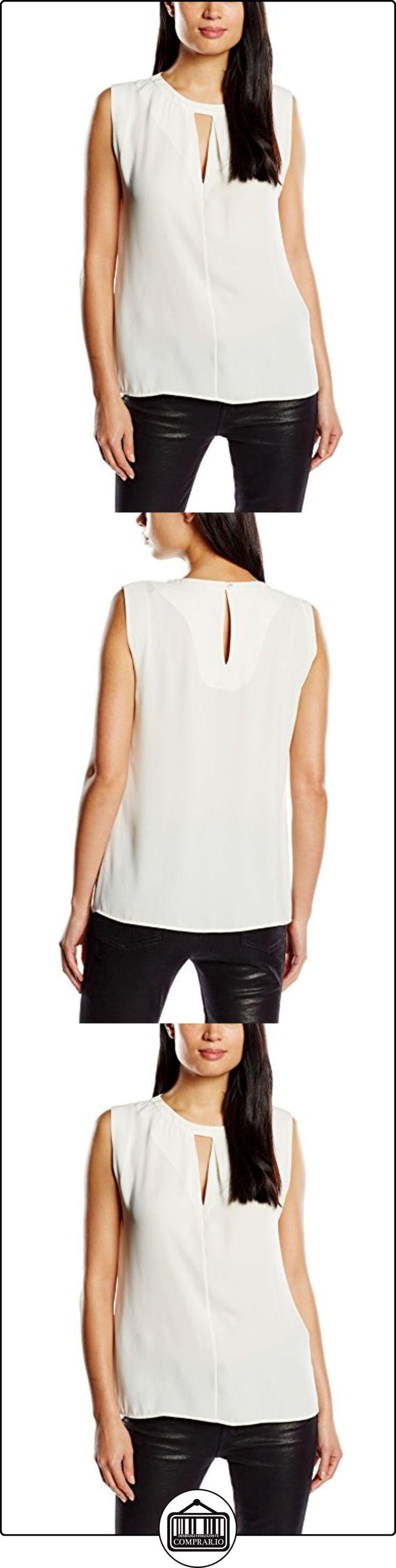 Roberto Verino, Top beige - Blusa para mujer, color beige / 02, talla M  ✿ Blusas y camisas ✿