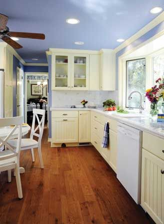 107 best blue yellow white my favorite kitchen colors for Yellow and brown kitchen ideas