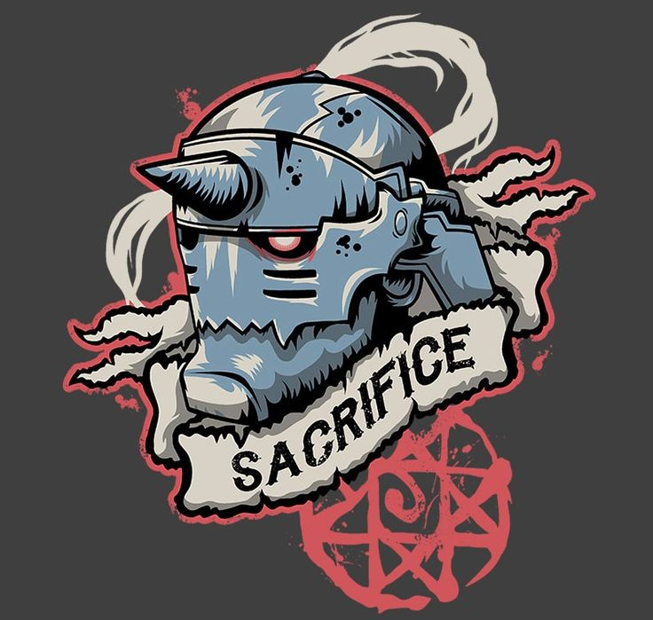 Sacrifice T-Shirt $11 Fullmetal Alchemist tee at RIPT today only!