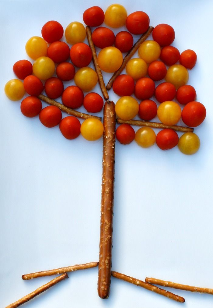Fall Tree Snack for Kids from www.fantasticfunandlearning.com