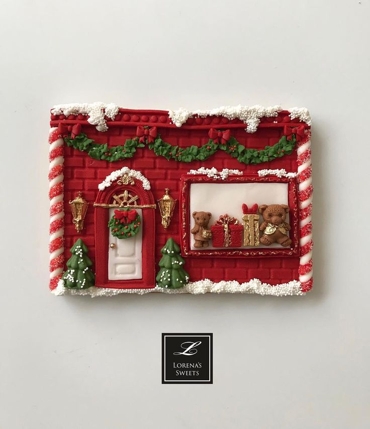 "192 Likes, 5 Comments - Lorena Rodriguez (@lorenarodriguezsaenz) on Instagram: ""Lorena Rodriguez. Christmas cookies . Candy Shop cookie . Toy store cookie #decoratedcookies…"""