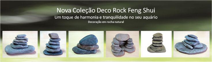 Deco Rock Feng Shui - Nova decoração para aquário inspirada em Feng Shui. Ver aqui: http://www.aquacomets.net/category/esculturas-deco-rock-feng-shui