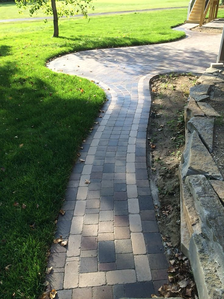 Brick Paver Patio With Fire Pit Cost: 122 Best Brick Pavers Images On Pinterest
