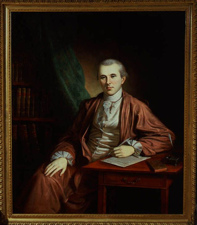 Dr. Benjamin Rush, 18th-century physician and signer of the Declaration of Independence.