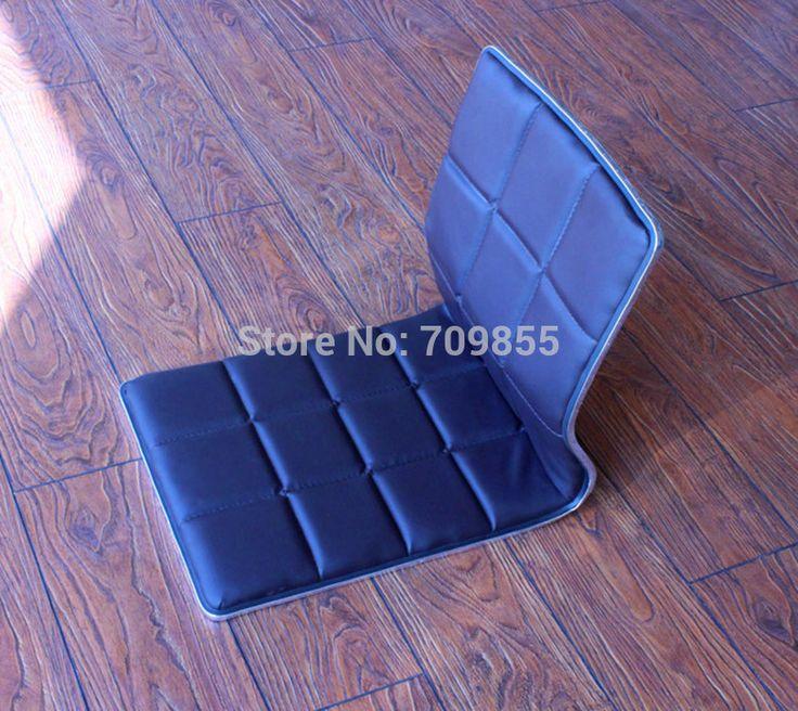 (6 шт./лот) Японская Мебель Кожаное Кресло Дизайн для Украшения Гостиная Татами Zaisu Безногий Пол Стул