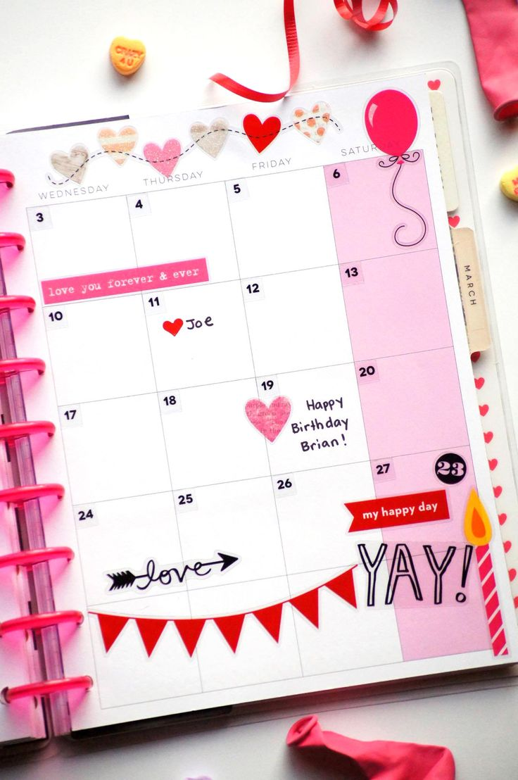 The happy planner megan mckenna february and layouts for Happy planner ideas