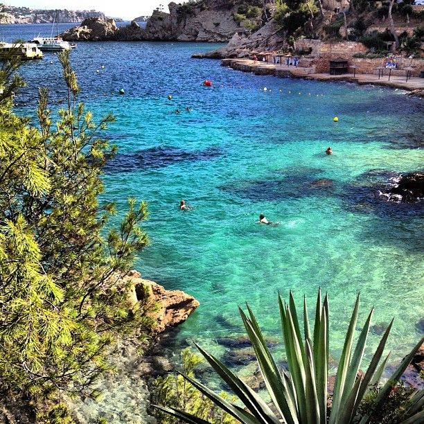 Cala #Fornells in #Paguera, #Mallorca