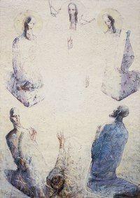 Современное сакральное искусство. Відкрила нового для себе митця з цікавими роботами Венцислав Прянков