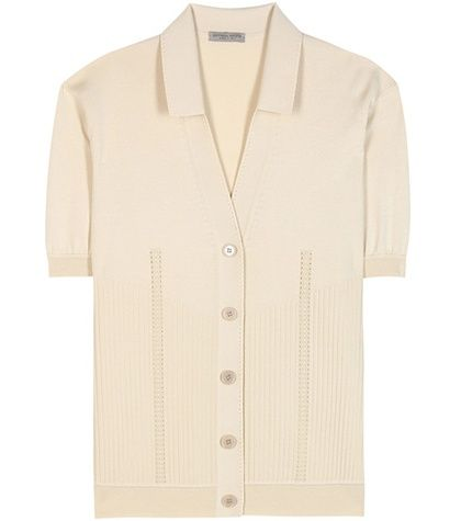 Bottega Veneta Cotton-blend Cardigan For Spring-Summer 2017