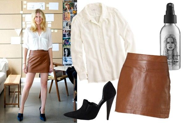 Leather Skirt Outfits - How To Style A Leather Skirt