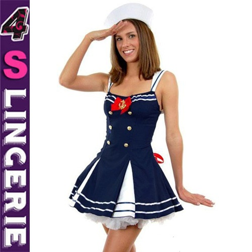 Newest style apprealing sexy sailor costume CT1346-Wholesale Lingerie,China Lingerie Manufacturer,Cheap Sexy Lingerie,Sexy Costumes Supplies,lingerie manufacturer,sexy lingerie,lingerie supplier,cheap lingerie china,lingerie wholesale