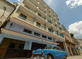 The Hotel Lido is Old Havana's accommodations for the budget conscious traveler. What you get is a cheap hotel which is located in Havana's Colonial Old Quarter at 1-10th of the price of surrounding